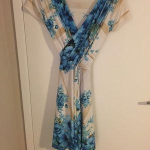 Vintage dress. Super flattering on